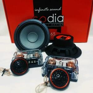 Harga speaker split 6 5inch cda high | HARGALOKA.COM