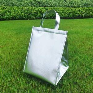 Harga tas bekal alumunium foil hot cold lunch bag waterproof   15l   | HARGALOKA.COM