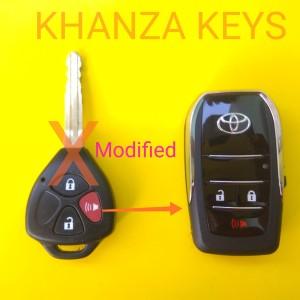 Katalog Casing Kunci Lipat Flip Key 2 Tombol Mobil Toyota Innova Vios Dll Flipkey Katalog.or.id