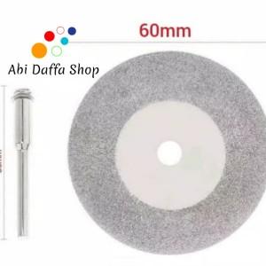 Harga Mata Gerinda Diamond Cutting Disc 60mm Dremel Mini Rotary Tool Katalog.or.id