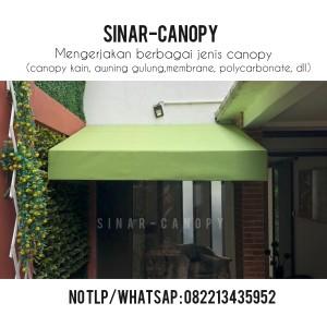 Harga canopy kain minimalis jakarta | HARGALOKA.COM