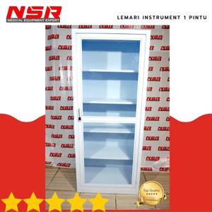 Harga terlaris lemari instrument rumah sakit 1 pintu besi | HARGALOKA.COM
