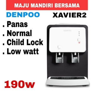 Harga dispenser denpoo xavier 2hot amp fresh low wat 190w   | HARGALOKA.COM