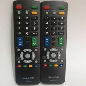 Harga remote remot tv sharp aquos led lcd gb175wjn1 ori | HARGALOKA.COM