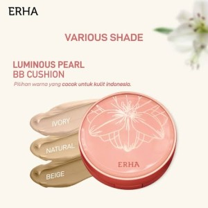 Harga erha luminous pearl bb cushion 15 gr   | HARGALOKA.COM
