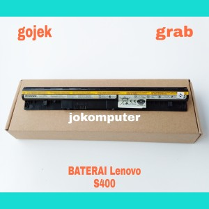 Harga baterai original laptop lenovo ideapad s400 s410 s300 l12s4z01 | HARGALOKA.COM