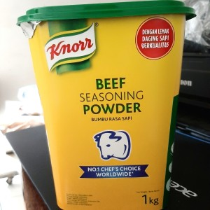 Harga knorr beef seasoning powder bumbu rasa sapi  1   HARGALOKA.COM