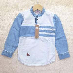Harga baju atasan kemeja hem koko anak laki lengan | HARGALOKA.COM
