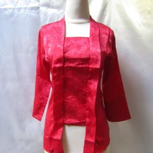 Harga baju kebaya kutubaru merah | HARGALOKA.COM