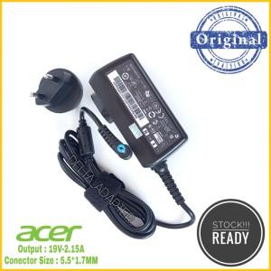 Harga adaptor charger original notebook acer one v5 121 122 132 121p | HARGALOKA.COM
