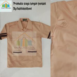 Harga baju pramuka siaga pendek seragam sekolah   6 7 | HARGALOKA.COM
