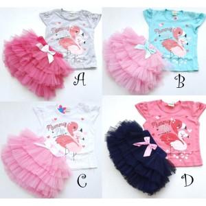 Harga mommy and me set setelan bayi perempuan lucu murah baju bayi | HARGALOKA.COM