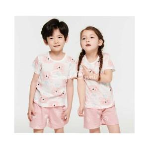 Harga seoul onni korea baju tidur anak bayi setelan piyama   pink bear   | HARGALOKA.COM