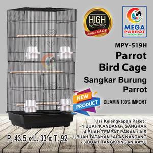 Harga kandang sangkar burung parrot mpy 519h   | HARGALOKA.COM