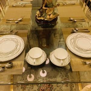 Harga dinner set waterford embrance 10 pcs mewah cantik indah | HARGALOKA.COM