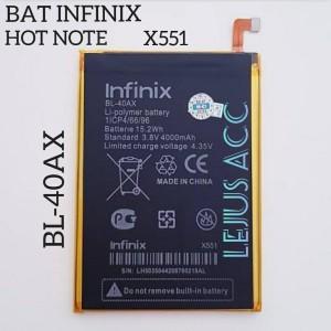 Harga baterai batre battery infinix hot note x551 bl 40ax | HARGALOKA.COM