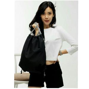 Harga terbaru tas serut waterprof pria amp wanita model gymsack sackbag murah     HARGALOKA.COM