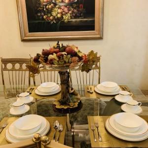Harga dinner set narumi mayestic gold 20 pcs mewah cantik | HARGALOKA.COM