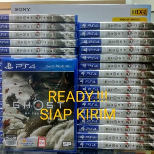 Harga ready ghost of tsushima ps4   reg all   HARGALOKA.COM
