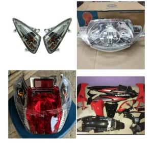 Harga full body supra x 125 lama merah lampu set | HARGALOKA.COM