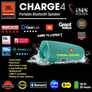 Harga jbl charge 4 charge4 portable waterproof bluetooth speaker original     HARGALOKA.COM