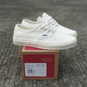 Harga sepatu vans authentic og ivory white unisex premium bnib | HARGALOKA.COM
