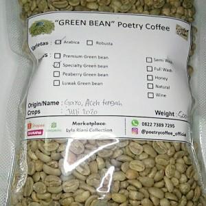 Harga biji kopi gayo arabica specialty greenbean arabica specialty 500 gr   | HARGALOKA.COM