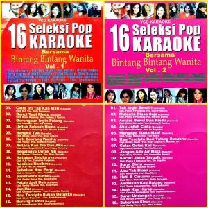 Harga kaset video vcd lagu karaoke seleksi pop wanita | HARGALOKA.COM