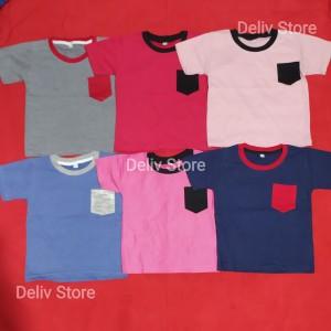 Harga baju kaos anak size 1 2 3 konveksi murah   mix size 1 2 3   HARGALOKA.COM