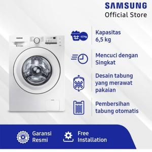 Harga jual samsung mesin cuci front loading   ww65j3033lw | HARGALOKA.COM