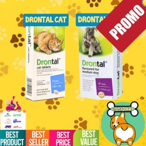 Info Drontal Cat Kucing Obat Cacing Per Tablet Tablets Katalog.or.id