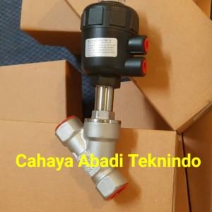 Harga angel seat valve ukuran 2 34 double acting piston valve pn25 | HARGALOKA.COM