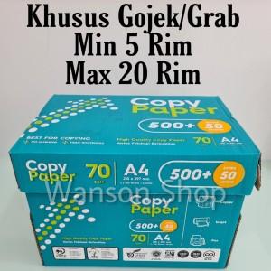 Harga kertas hvs a4 copy paper 70gram kertas foto copy a4 copy | HARGALOKA.COM