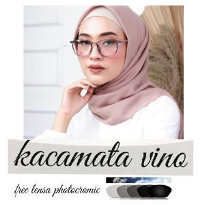 Harga kacamata wanita fashion terbaru free lensa photocromic | HARGALOKA.COM