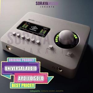 Harga universal audio apollo solo thunderbolt 3 audio interface with uad | HARGALOKA.COM