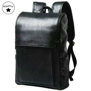 Harga tas ransel kulit eton good quality cewek cowok ada tmpt laptop keren   | HARGALOKA.COM