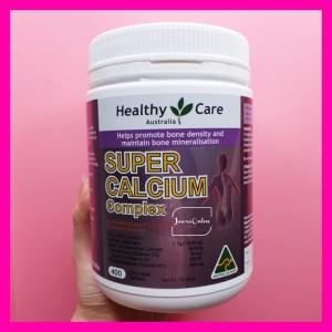 Harga healthy care super calcium complex 400 tablet d3 k kalsium vitamin | HARGALOKA.COM