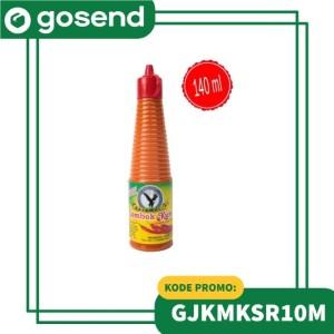 Harga saos sambal lombok kuning 140 ml sumber jaya | HARGALOKA.COM