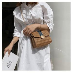 Harga tas selempang tas sling tas wanita tas model rotan tas santay     HARGALOKA.COM