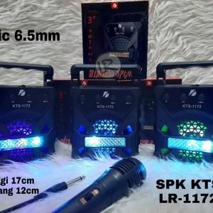 Harga speaker bluetooth wireless kts lr 1171 mic   HARGALOKA.COM