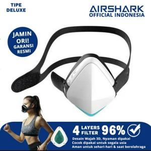 Harga airshark masker filter official indonesia respirator hepafilter airpro   | HARGALOKA.COM