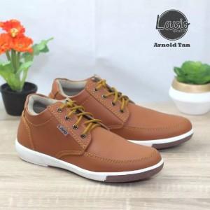 Harga sepatu sneakers pria lavio arnold   tan   HARGALOKA.COM