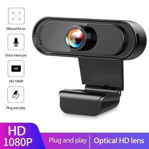 Harga webcam full hd 1080p pc camera gaming live video youtube obs zoom | HARGALOKA.COM
