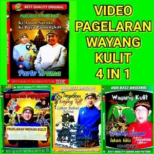 Harga paket kaset mp4 video wayang kulit 4 dics | HARGALOKA.COM