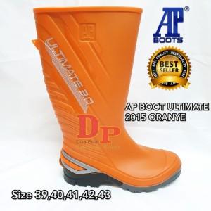 Harga Sepatu Allbike Ap Boots Sepatu Karet Anti Air Hitam Merah Sepeda Motor Katalog.or.id