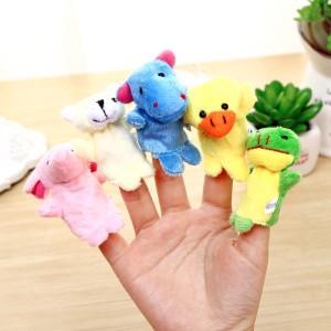Harga boneka jari keluarga atau binatang mainan edukasi family or   HARGALOKA.COM