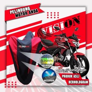 Harga cover motor tiger king scorpio megapro verza sarung waterproof vision   | HARGALOKA.COM