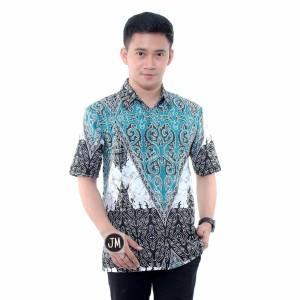 Harga kemeja batik hem batik baju batik pria batik original modern   HARGALOKA.COM