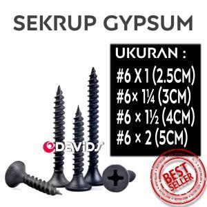 Katalog Skrup Gypsum 6 X 1 1000 Pcs Dry Wall Sekrup 6x1 34 Katalog.or.id