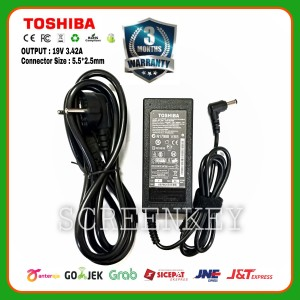Harga adaptor charger toshiba satellite l655 l730 l735 l740 l745 l750 | HARGALOKA.COM